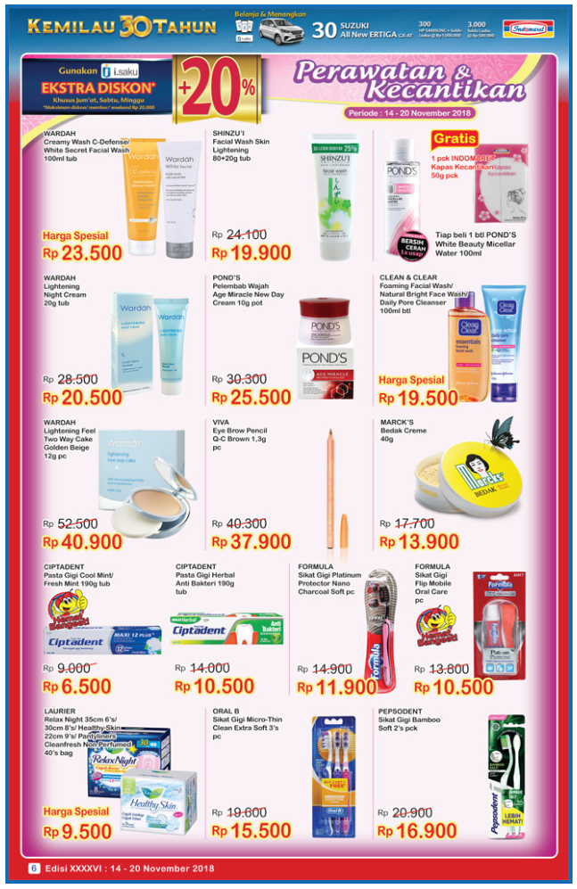 Katalog Super Hemat Indomaret November 2018