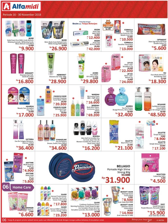 Katalog Promo Alfamidi Periode 16-30 November 2018