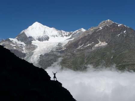 Trekking on the Walkers Haute Route