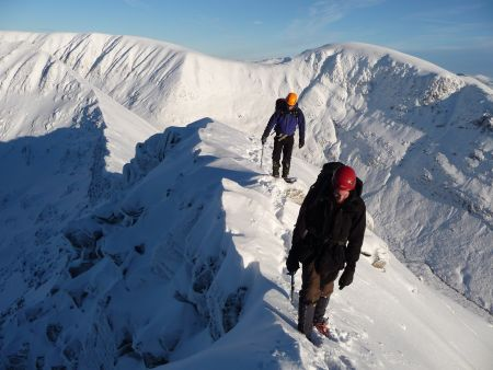 Winter Courses will give you the necessary winter hill skills