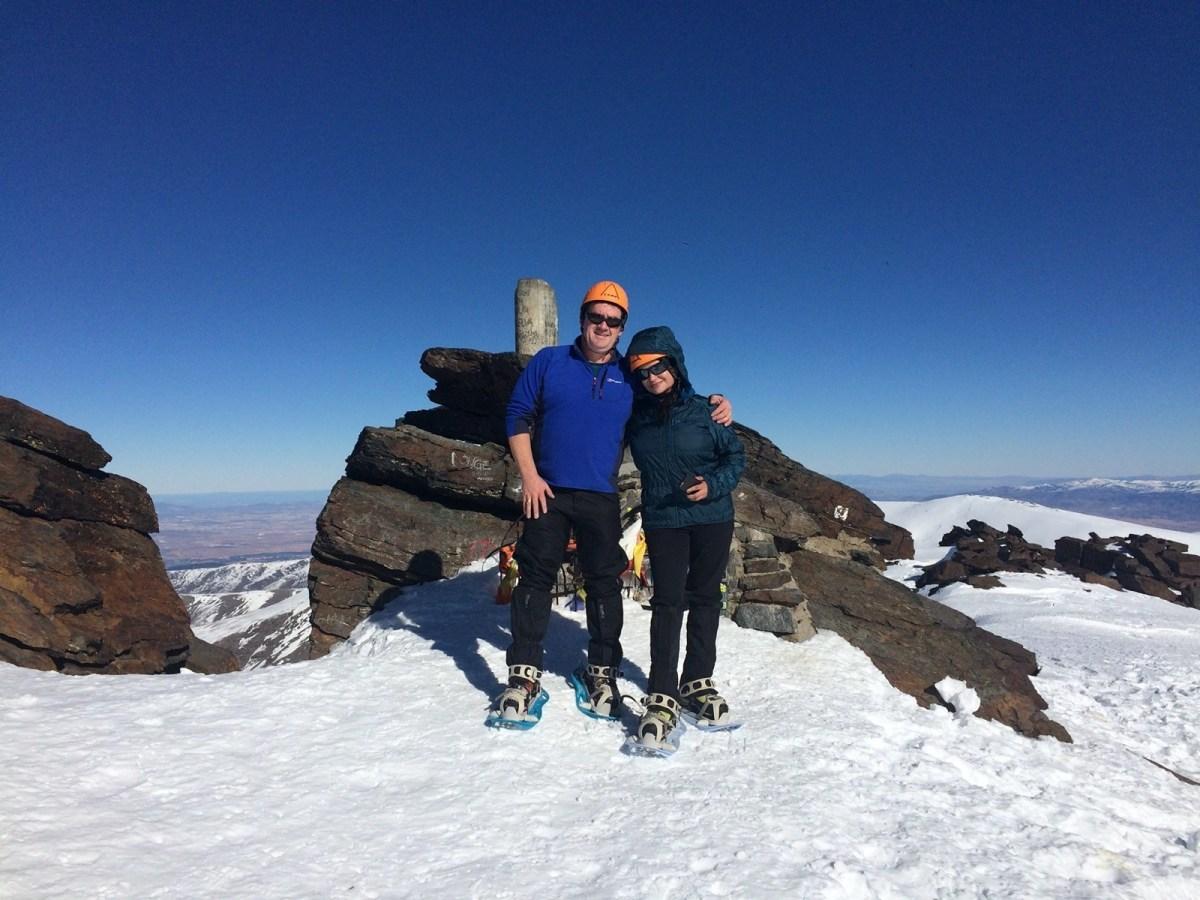 Sierra Nevada invernal