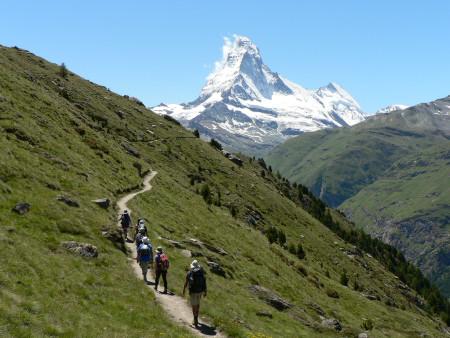 Alpine treks on the Tour du Mont Blanc and Tour du Matterhorn