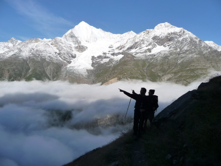 Guided Trekking tours in the Alps