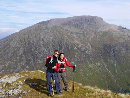 Backpacking in the Scottish Highlands