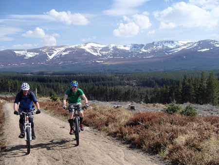 Mountain Biking in the Scottish Highlands - Cairngorms