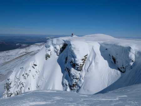 The Cairngorms in winter
