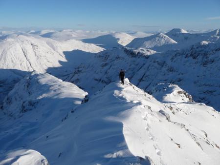 Glencoe in winter condition