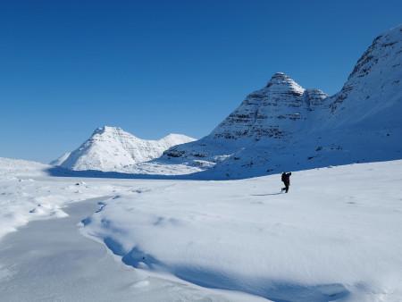 In Torridons winter wonderland