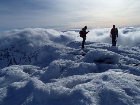 Navigating on the Cairngorm plateau