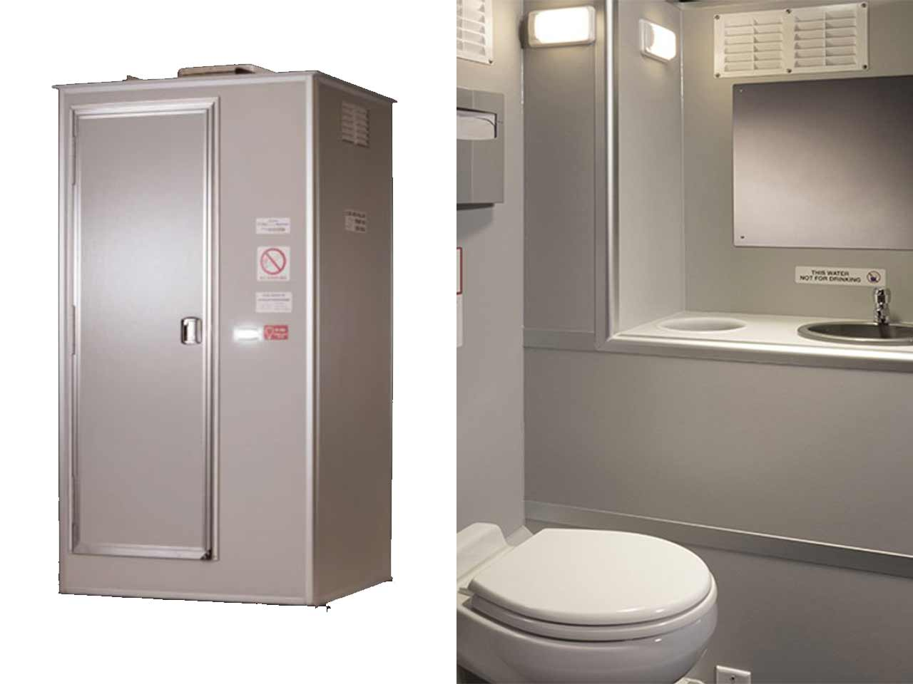 VIP portable restroom