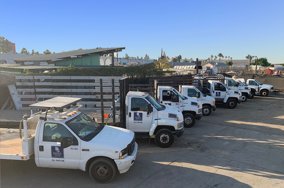 Pacific Portable Services Truck Fleet