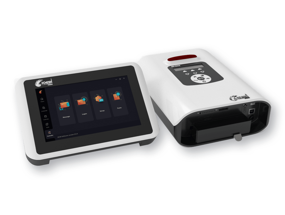 FX ONE printer and TOUCH controller