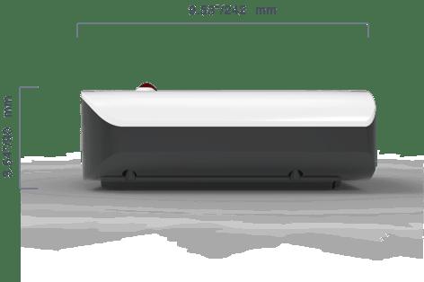 FX ONE standard printer side view
