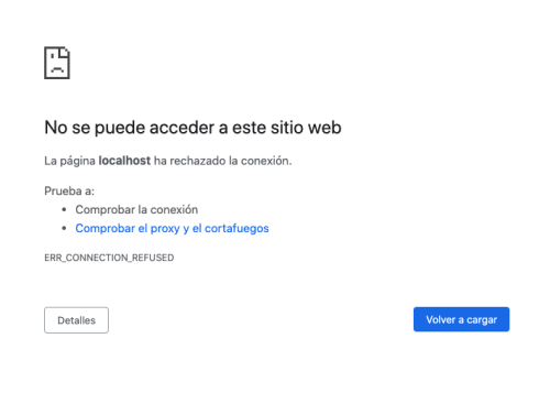 error browser
