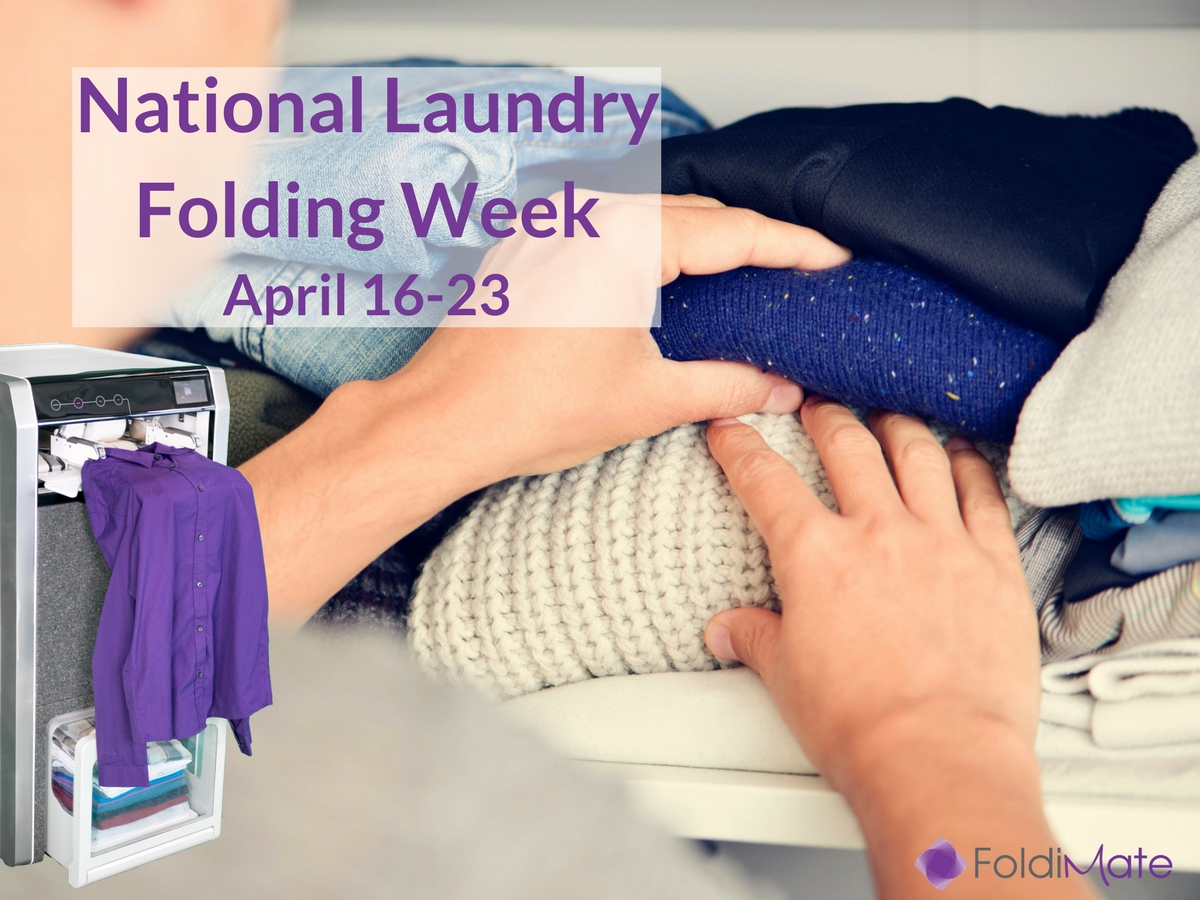 Foldimate Announces National Laundry Folding Week to Promote Donations of Gently Worn Clothes to Families in Need - Press Release