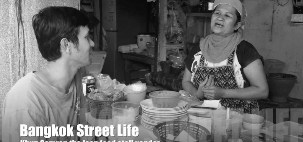Isan street food vendor in Bangkok