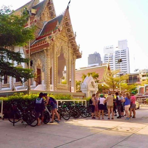 Bangkok city tour by bicycle