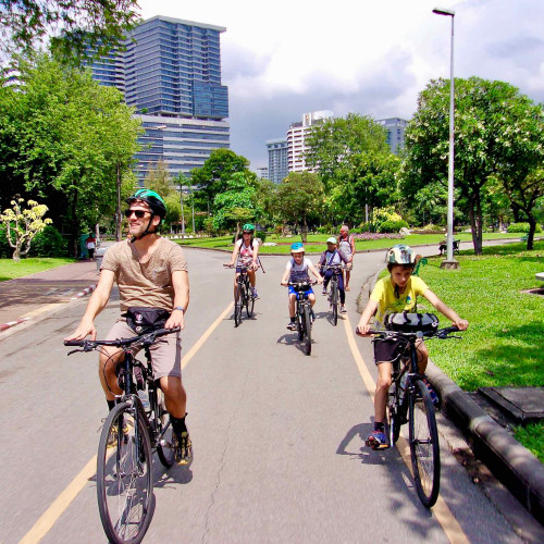 Quick tour of Bangkok by bike with Follow Me