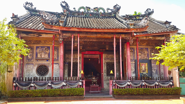 View of the Kuan Yin Shrine