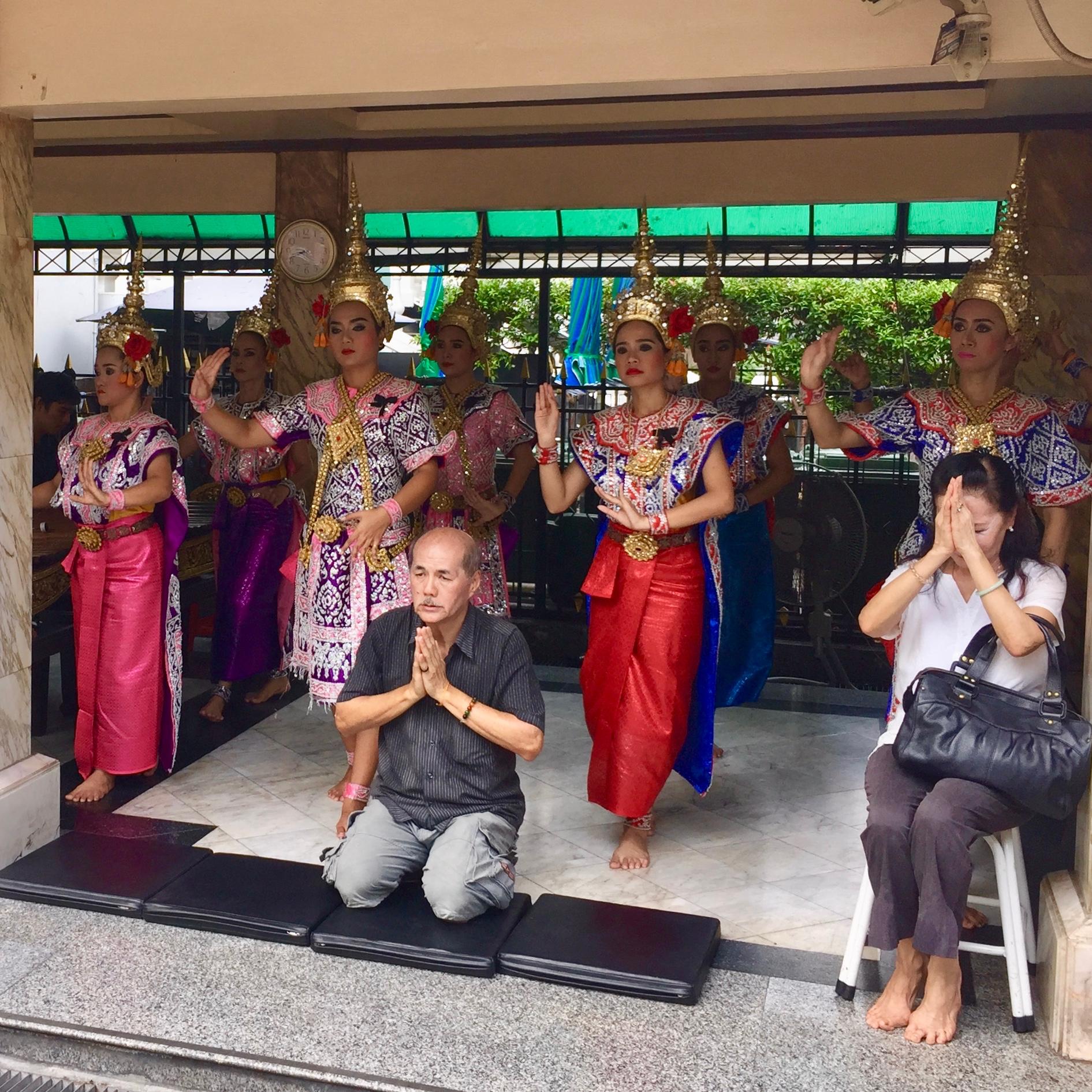 Thai traditional dancers