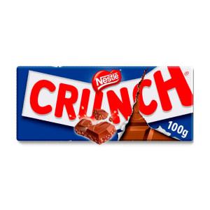 Tablete de Chocolate de Leite sem Glúten Nestlé Crunch