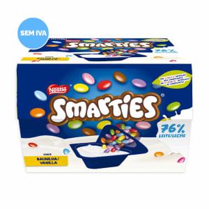 Iogurte Mix-In Smarties Baunilha Nestlé