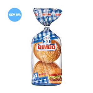 Pão para Hambúrguer Bimbo 4 un