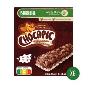 Barras de Cereais de Chocolate com Leite Nestlé Chocapic