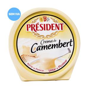 Queijo Creme Camembert Président