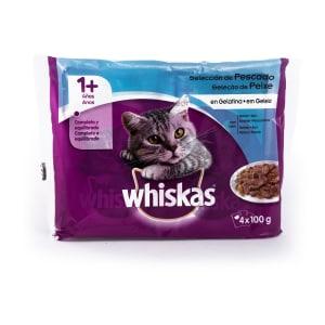 Comida Húmida de Peixe para Gato Whiskas