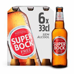 Cerveja sem Álcool Super Bock (Pack 6)