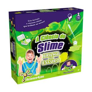 A Ciência do Slime (Brilha no Escuro) Science4you bf31440039f