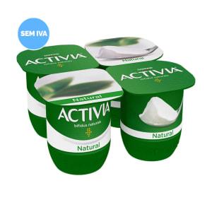 Iogurte Bifidus Natural Activia