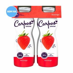 Iogurte Líquido de Morango Corpos Danone