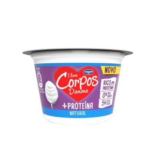 Iogurte Magro +Proteína Natural Corpos Danone