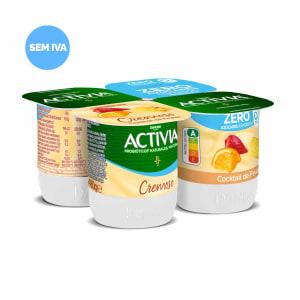 Iogurte Cremoso Cocktail de Frutas Activia