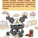 Let's Prevent! - Nuevas fichas informativas: Panadero y pastelero