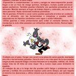 Let's Prevent! - Nueva ficha informativa: Riesgos de los Carniceros