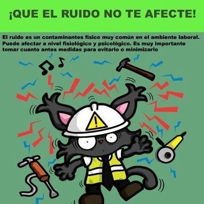 Let's Prevent! - Fichas Informativas: Exposición al Ruido