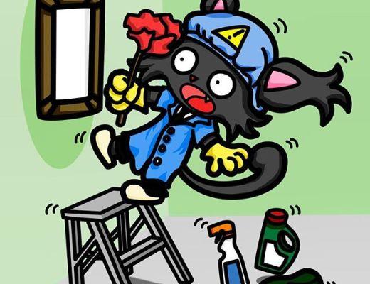 Let's Prevent! - Los primeros pasos de Safety el gato