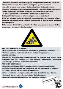 Fichas informativas Riesgo de Altura PG2