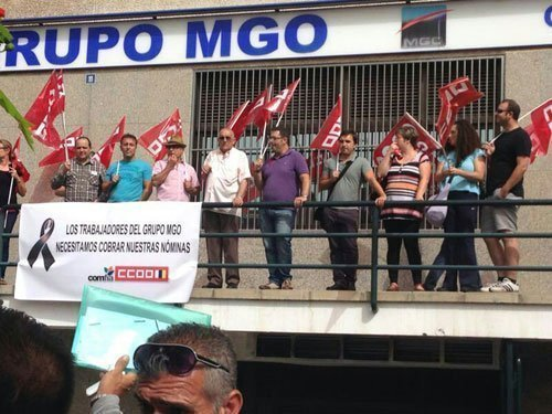 Huelga trabajadores MGO Canarias