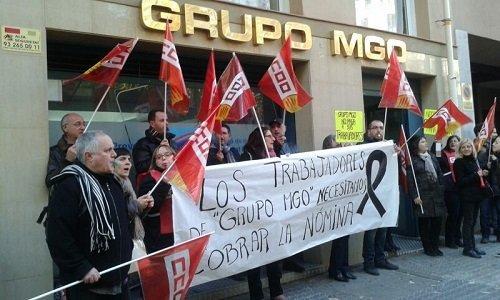 Trabajadores MGO no cobran Let's Prevent! - Tercera semana de protestas de los trabajadores de Grupo MGO