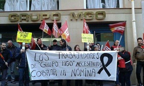 Grupo MGO no paga a los trabajadores