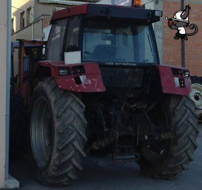 accidente vuelco tractor