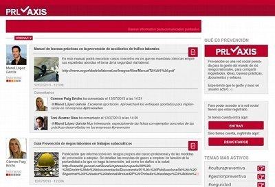 Let's Prevent! - En desarrollo PRLaxis la primera red social relacionada con la Prevención de Riesgos Laborales