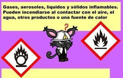 Let's Prevent! - Fichas Informativas: Trabajos con Productos químicos