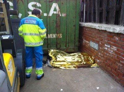 Let's Prevent! - Accidentes: Fallece un trabajador tras caerle encima un contenedor en Madrid