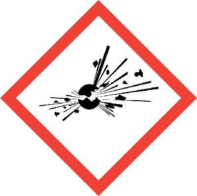 senal riesgo explosion Let's Prevent! - Accidentes: Un trabajador herido en una explosión en Vizcaya