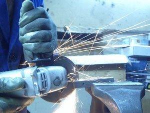 trabajos con sierra radial